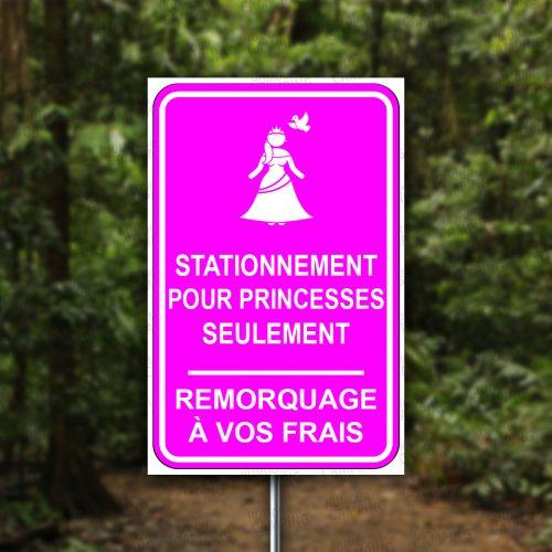 Vertical-HumourCamping-Pancarte-stationnement-pour-princesse